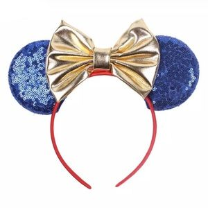 Minnie Mouse Wonder Woman Sequin Headband with Bow